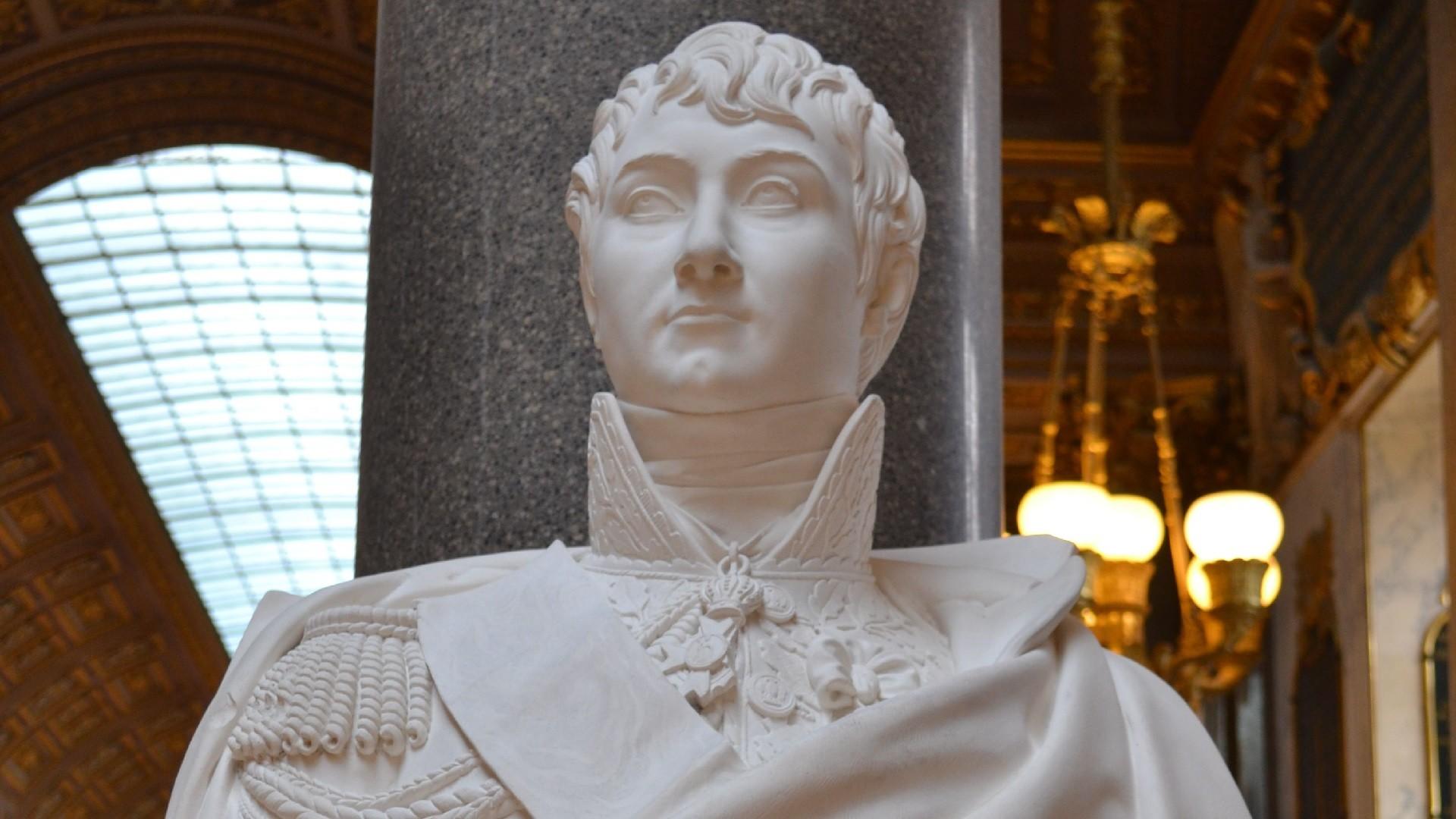 Buste de Charles Etienne Gudin de la Sablonnière. Galerie des Batailles, château de Versailles.