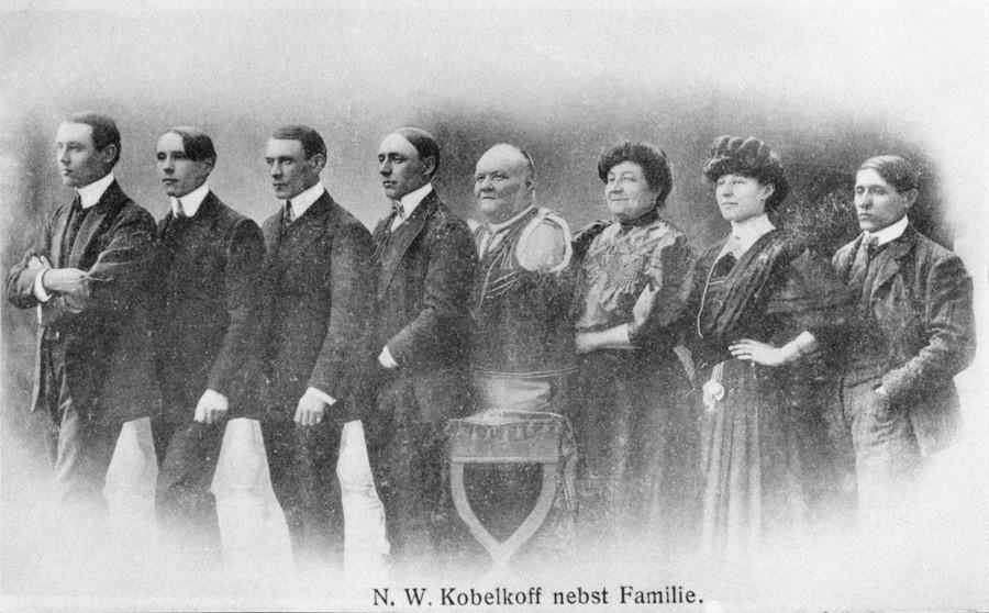 La famiglia Kobelkov
