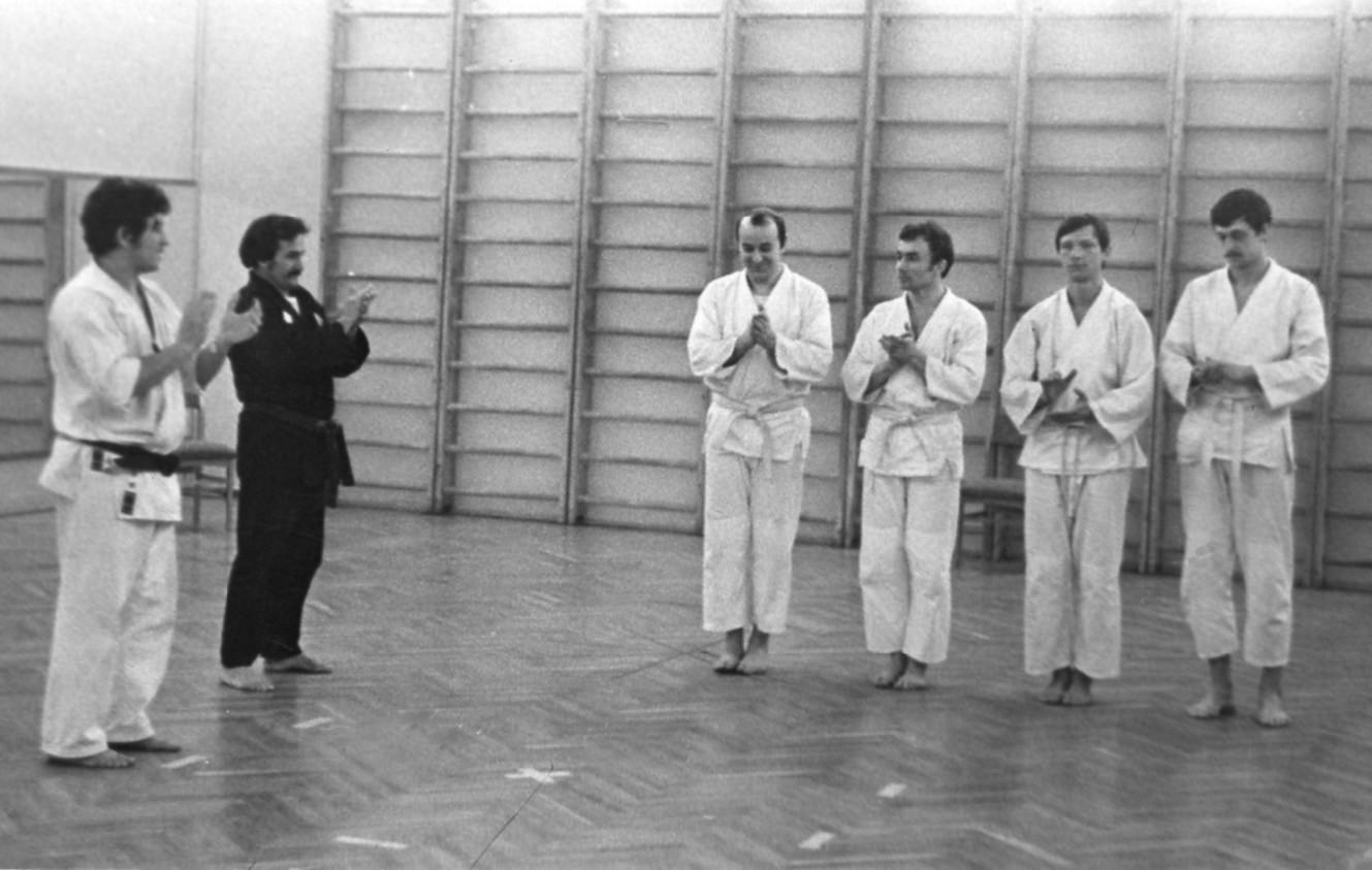 I maestri arrivarono a Mosca nel novembre del 1978