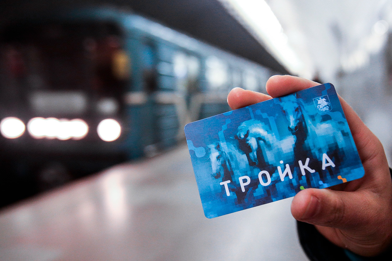 Troika - electronic transport card