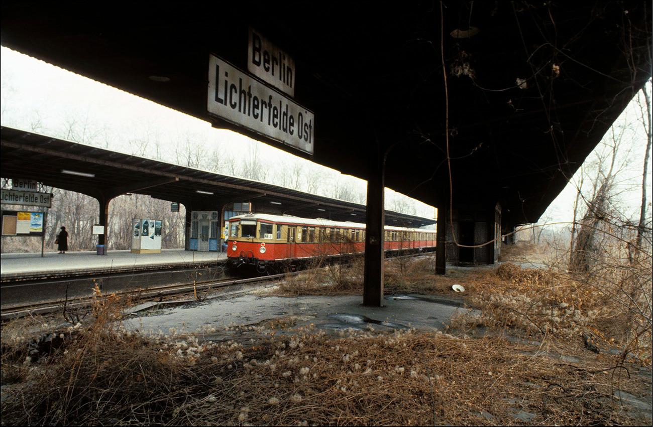 Берлинска пруга, Немачка.