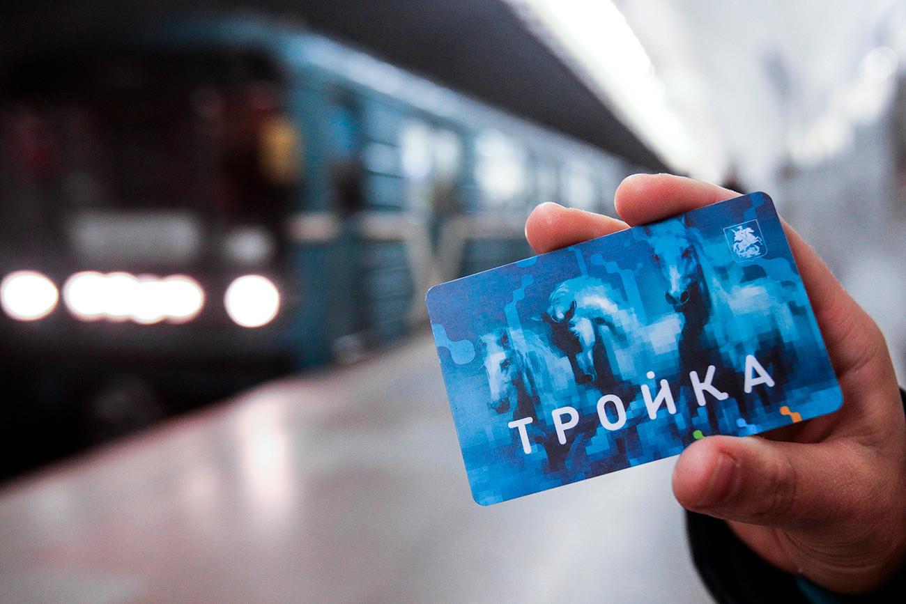 Trojka, elektronska kartica za javni prevoz