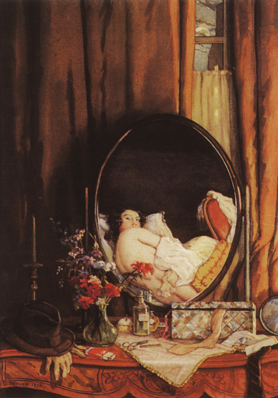 Интимни отражения в огледалото