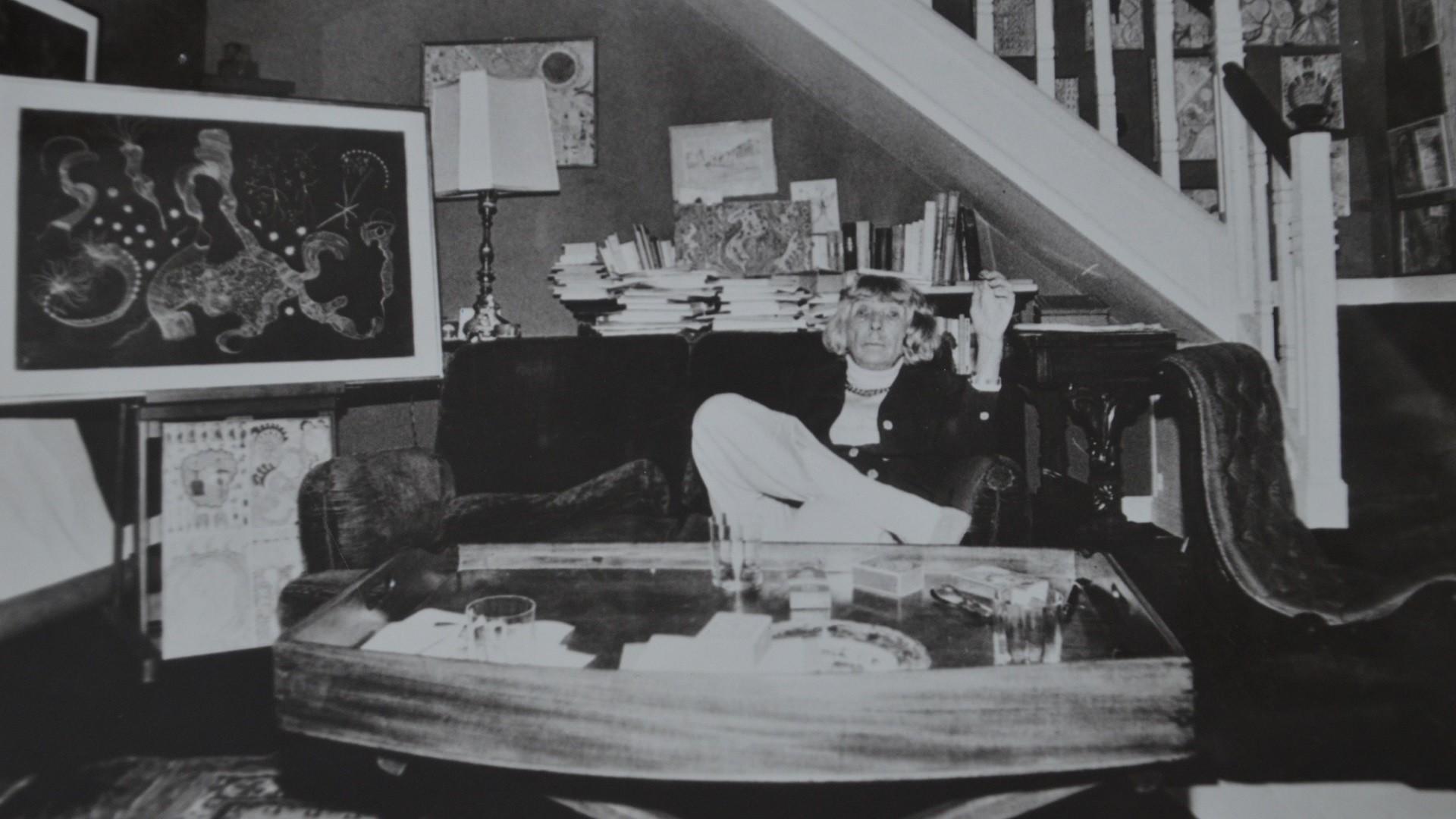 Gala Barbisan dans sa maison de Montmartre