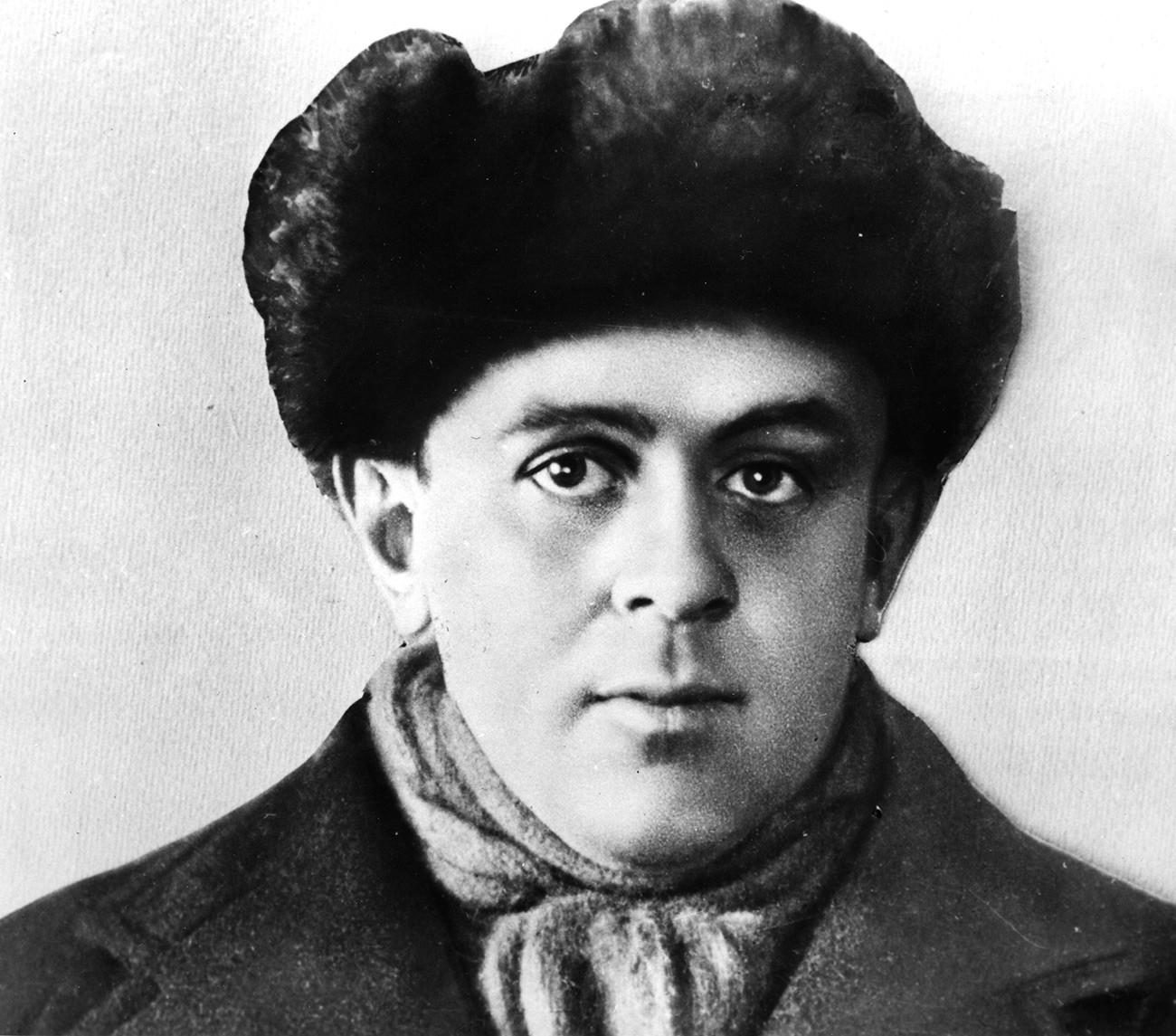 John Reed in Moskau, ca. 1917-1918