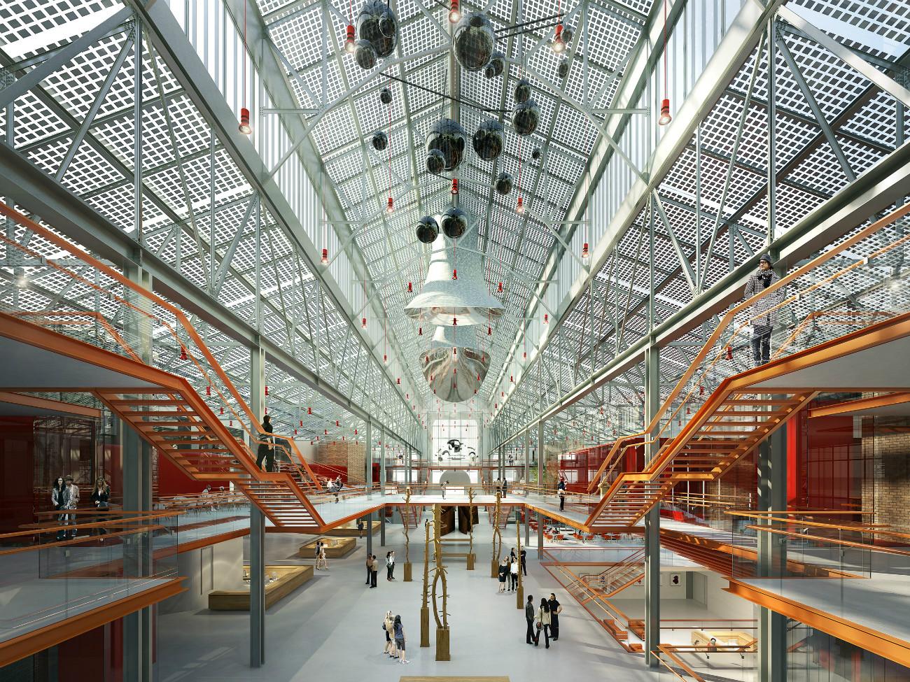 L'ex centrale elettrica di Mosca riconvertita in centro artistico su progetto di Renzo Piano