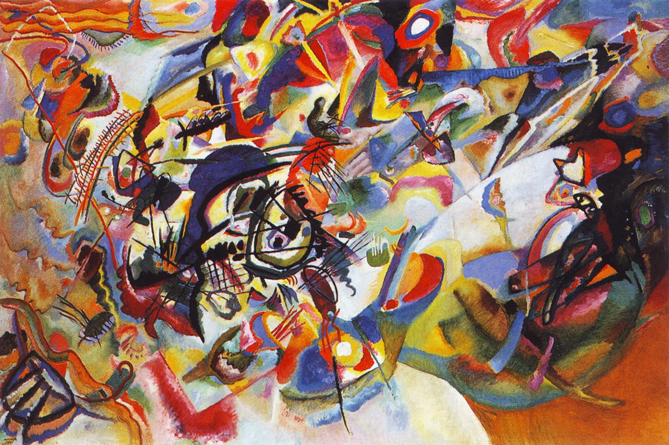『即興 7』、1913年