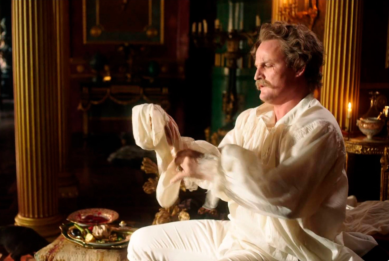 "Jason Clarke als Grigori Potjomkin in der HBO-Serie ""Katharina die Große"""