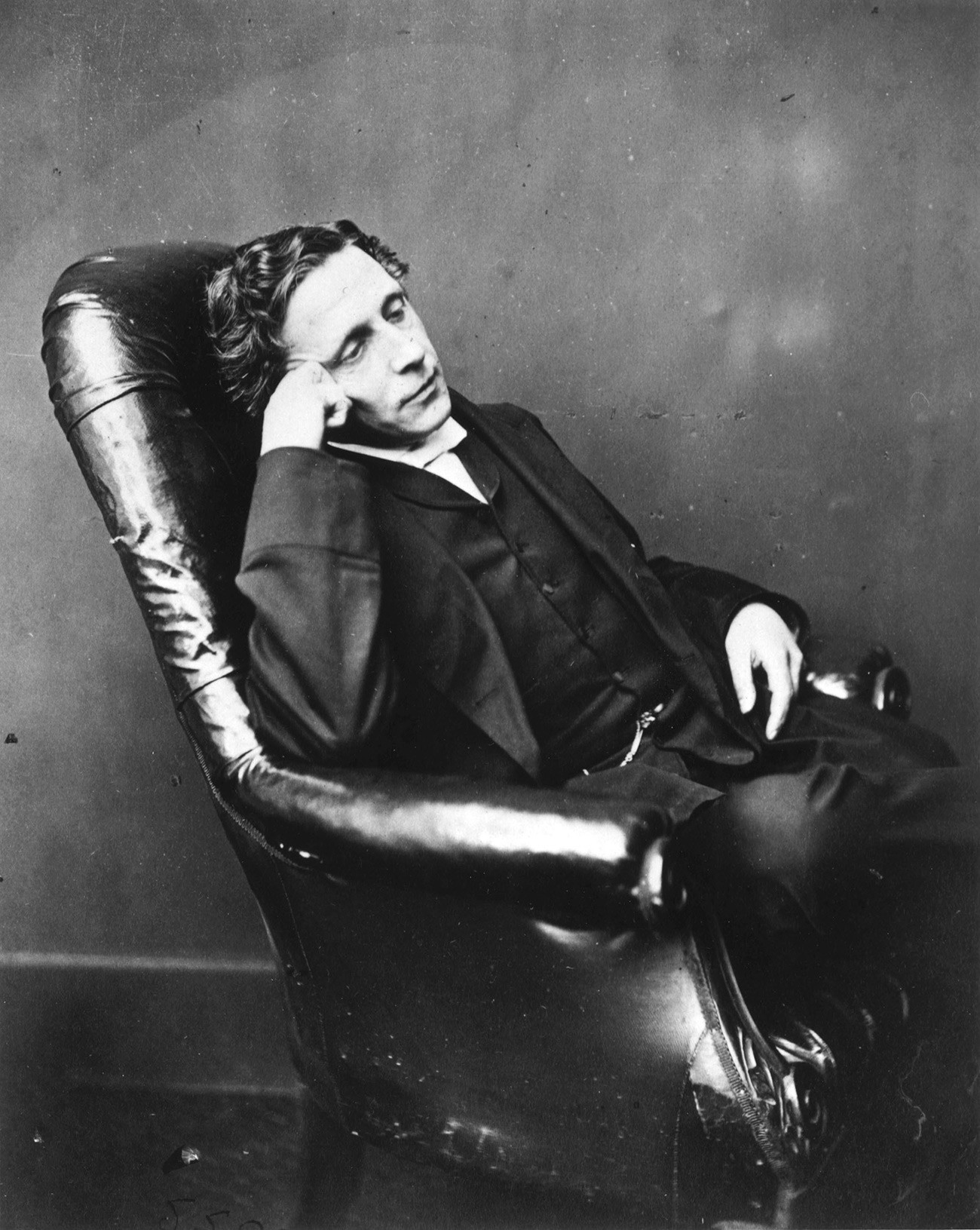 Lewis Carroll, self-portrait, c 1880s