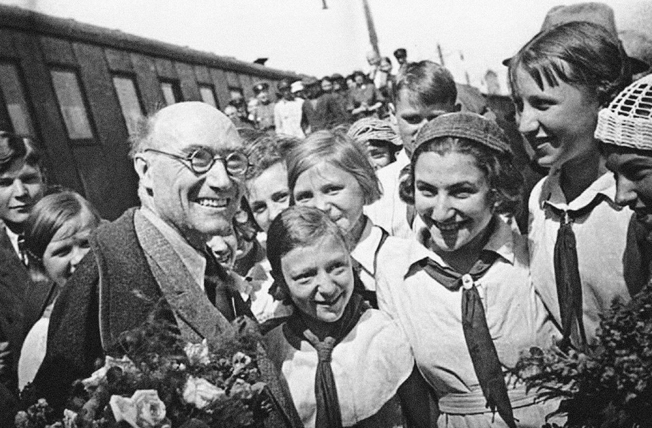 André Gide in Soviet Union