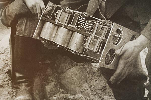 Совјетска радио-мина Ф-10.