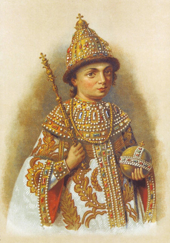 Futur empereur  Pierre le Grans