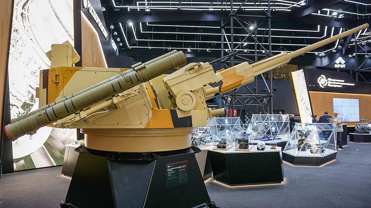 """Борбени модул АУ-220М """"Бајкал""""."""