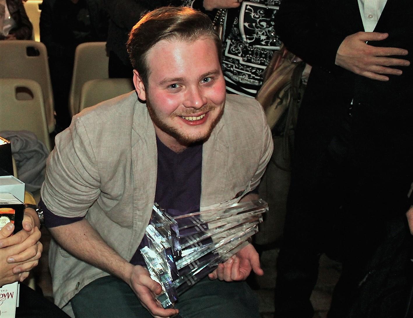 Ivan Tverdovski, lauréat de la XXIIe édition du festival