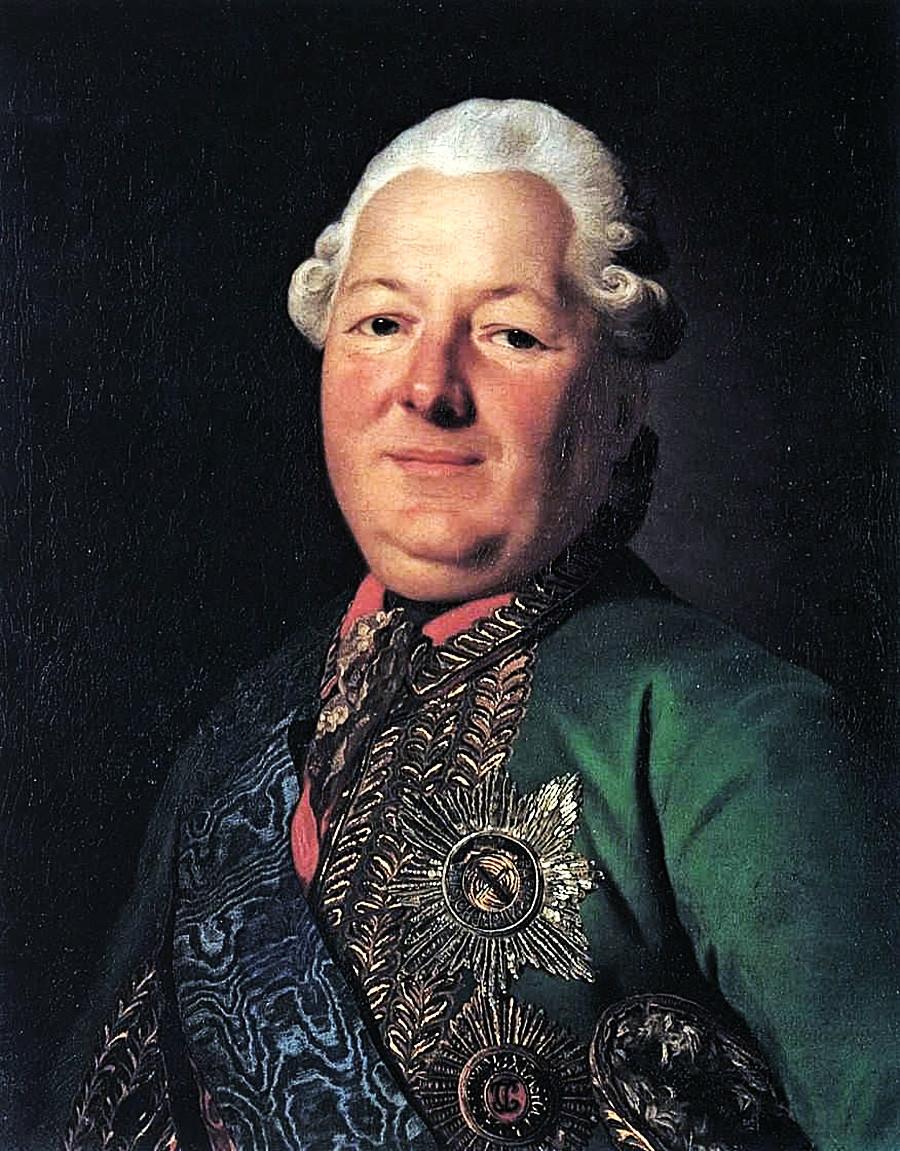 Vassíli Mikhailovich Dolgorukov-Krimski (1722-1782), de Aleksandr Roslin