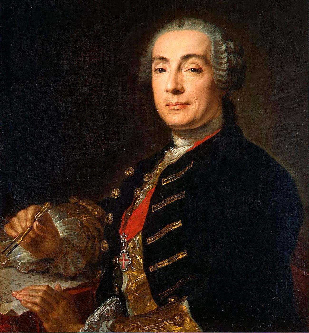 Портрет Ф. Б. Растрелли
