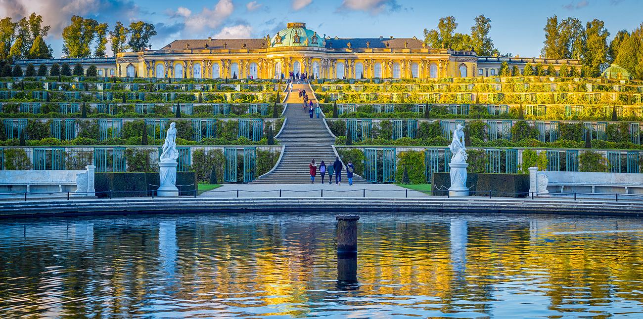サンスーシ宮殿、ポツダム市、ドイツ