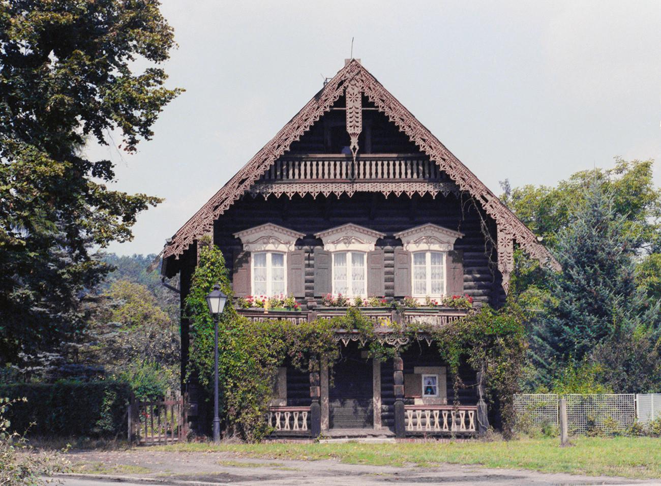 ロシアの村、アレクサンドロフカ