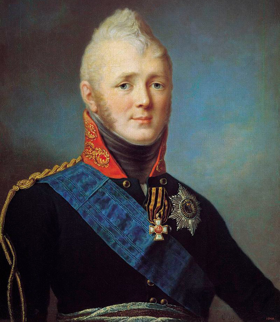 Aleksandr 1º da Rússia (1777-1825)