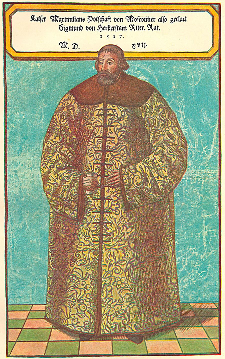 Sigismundo von Herberstein (1486-1566)
