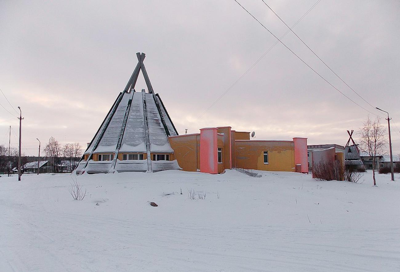 Саамски центар у селу Ловозеро