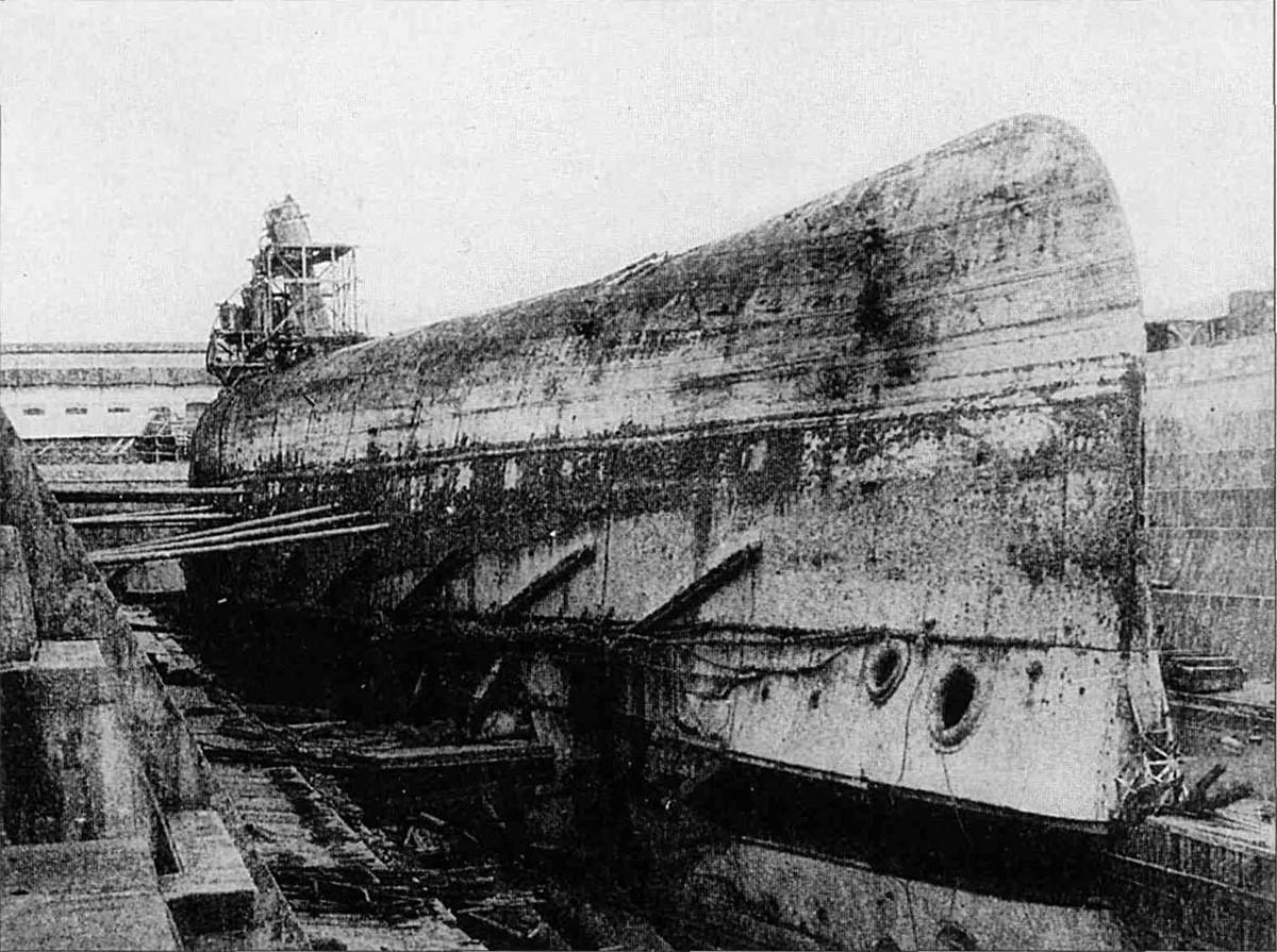L'Impératrice Maria remonté à la surface, 1919