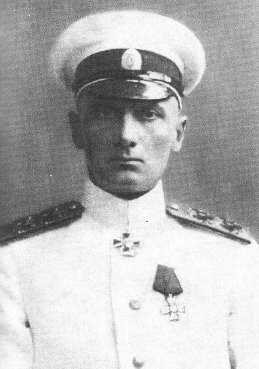 Almirante Alexánder Kolchak en 1916.