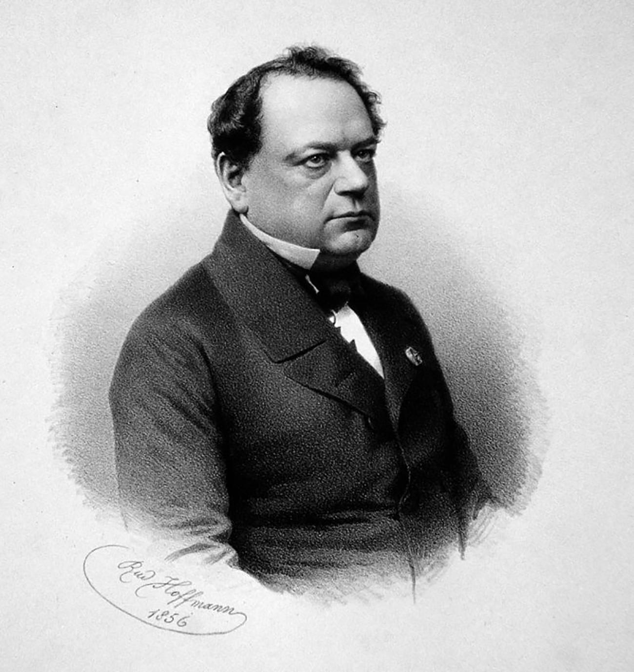 Portret Moritza Hermanna von Jacobija