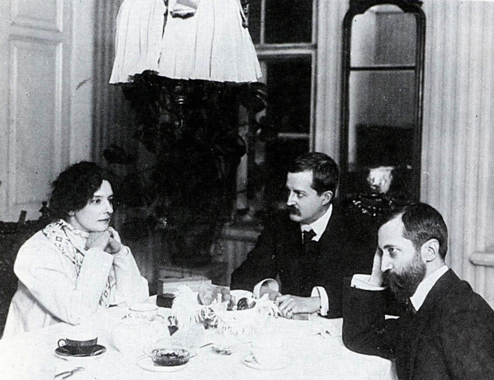 Guíppius, Filosofov e Merejkóvski, em 1920