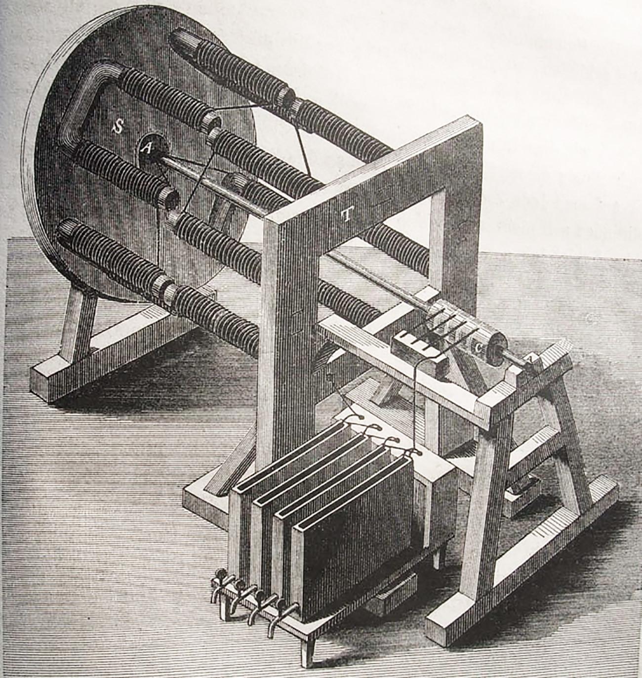 Jacobi's electric engine