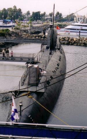Подводница Б-427, Лонг Бийч