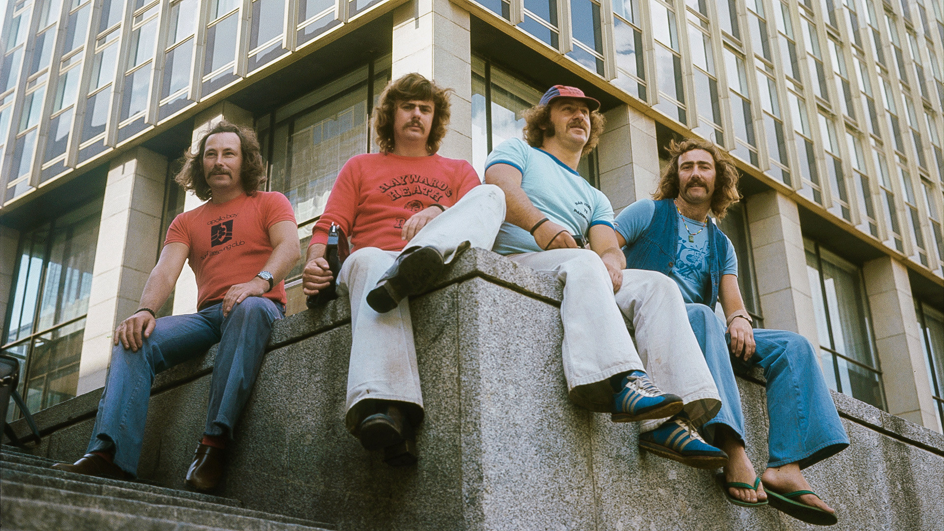 Britische Touristen in Moskau, 1976
