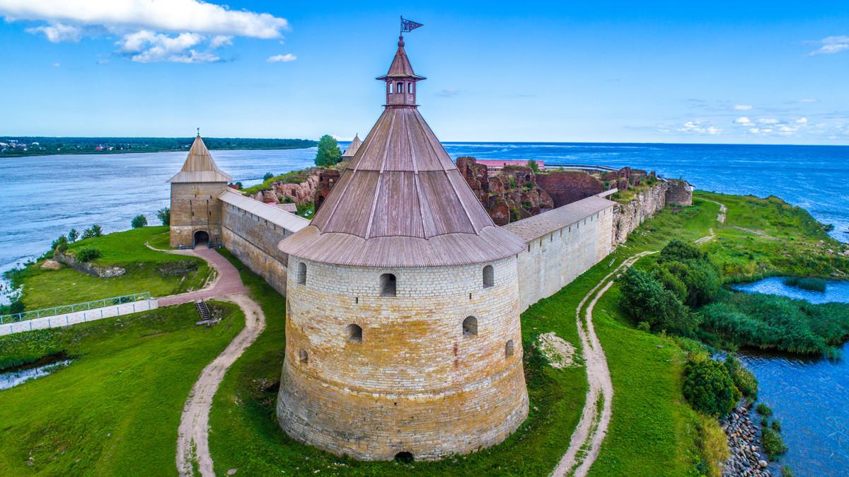 La fortezza di Shlisselburg