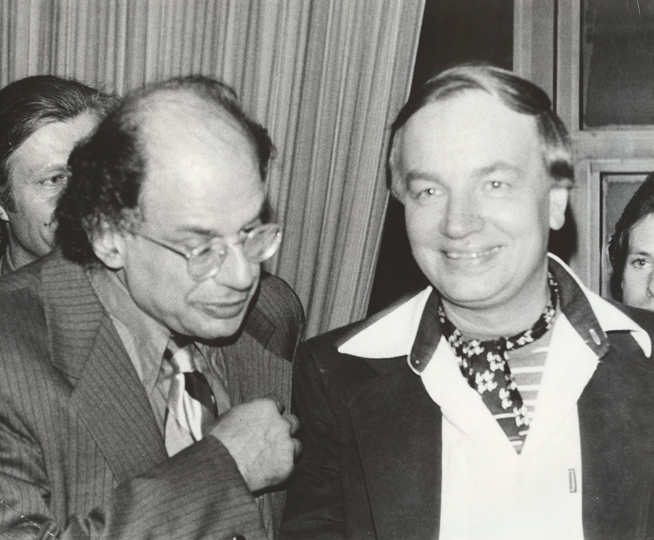 Allen Ginsberg and Voznesenky