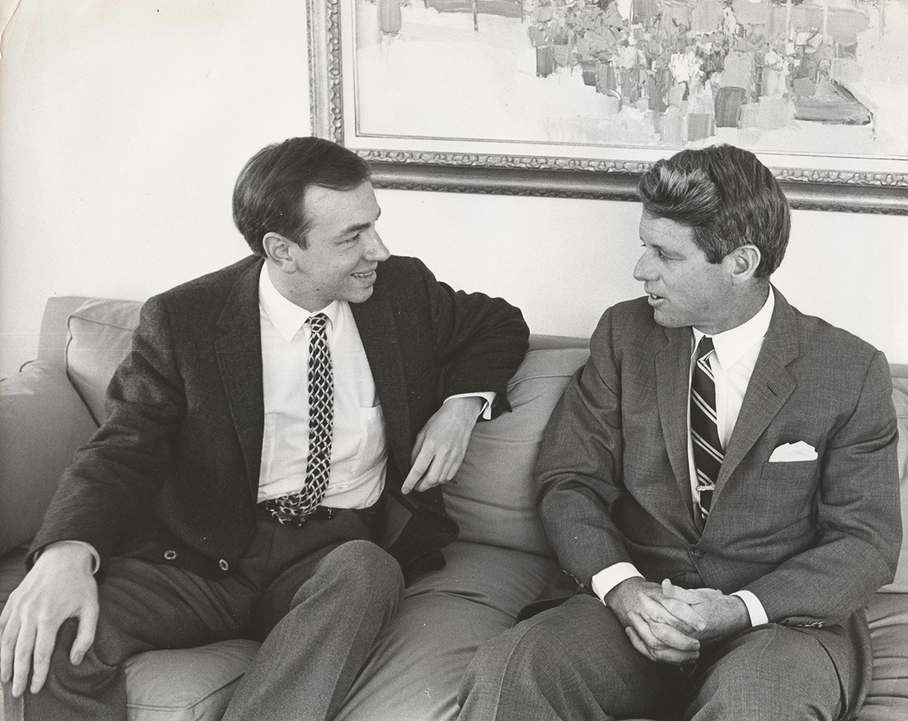 Voznesensky and Robert Kennedy, 1967