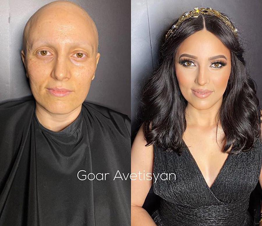 10 Transformasi Rambut Menakjubkan Komposisi Tata Rias Yang Cantik