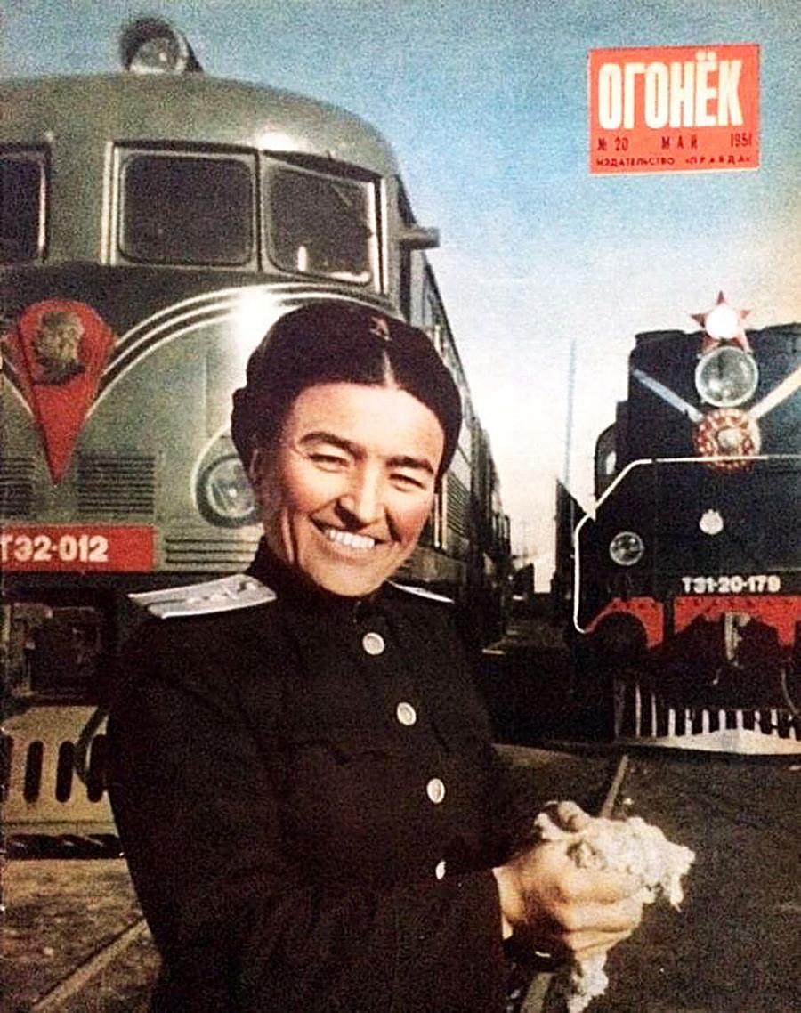Башарат Мирбабаева.