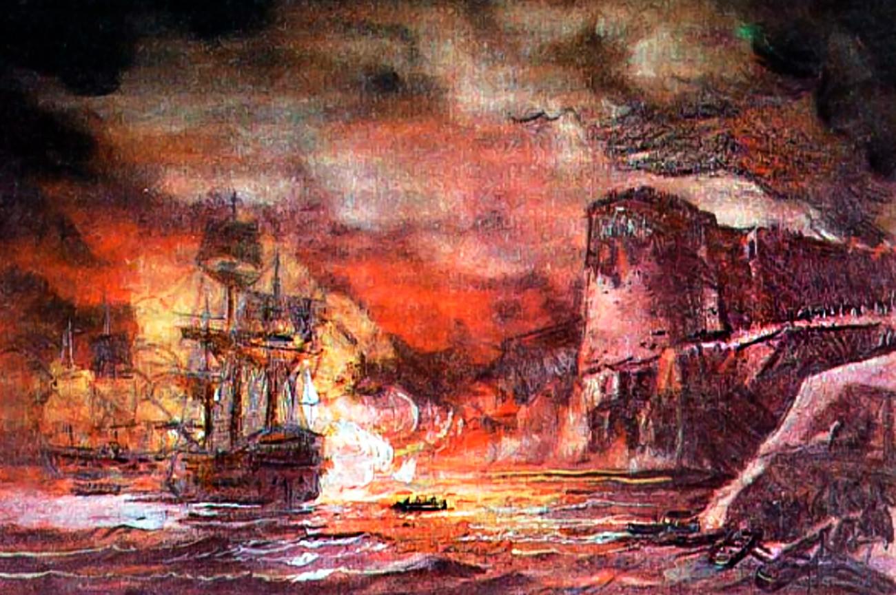 Asedio de Corfú.