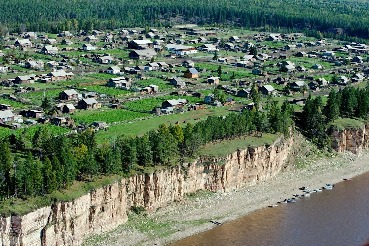 Un village en Iakoutie