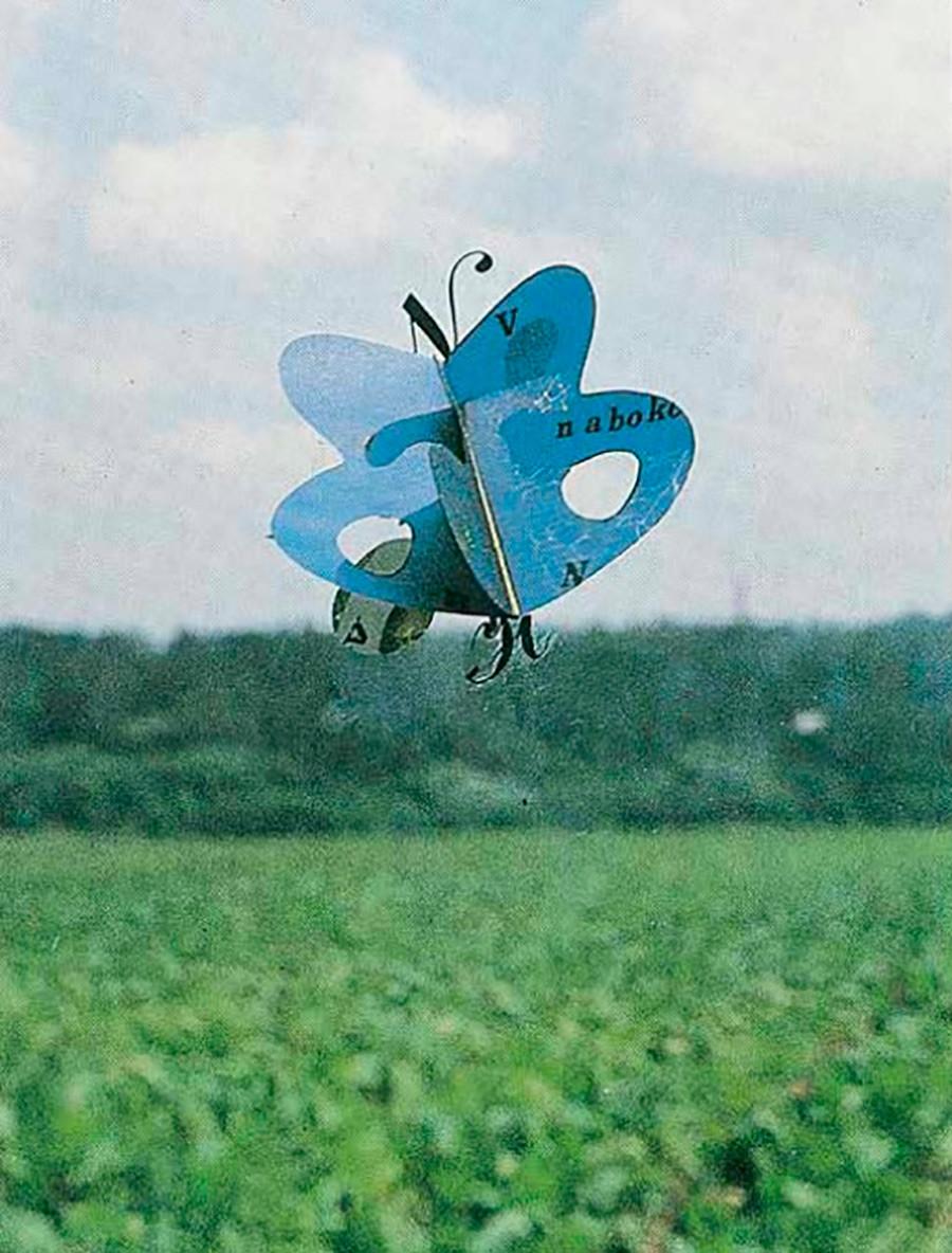 """L'installazione """"Nabokov's Butterfly"""""""