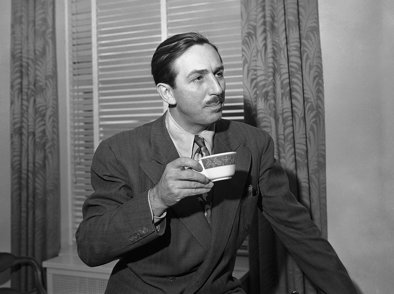 Walt Disney en San Francisco, el 24 de febrero de 1941.