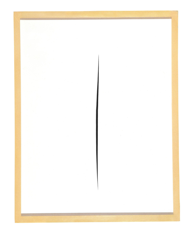 Concetto spaziale, Attesa, 1965