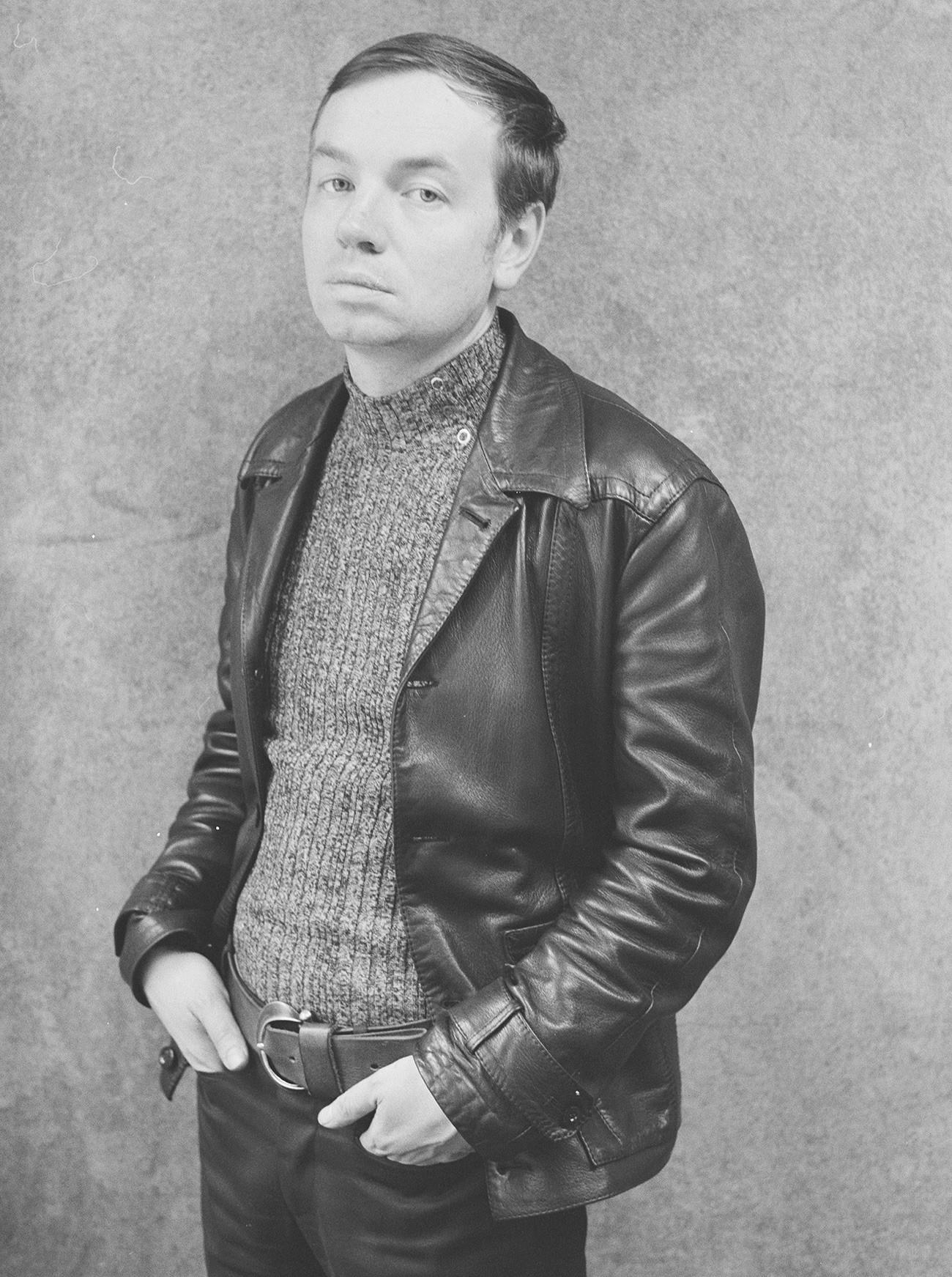 Andréi Voznesenski en los años 1970.