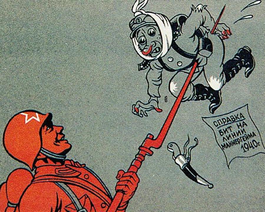 « Attestation : a été battu sur la ligne Mannerheim en 1940 »