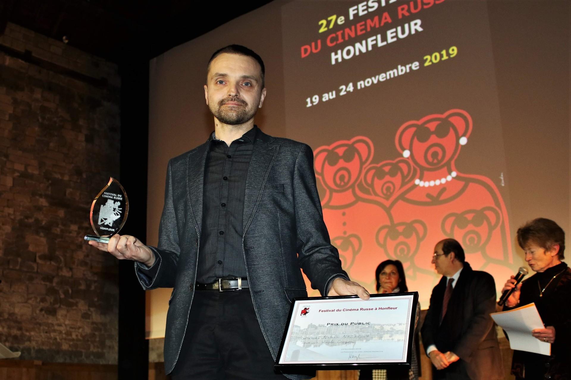 Andreï Naydenov, chef opérateur du film Un simple crayon