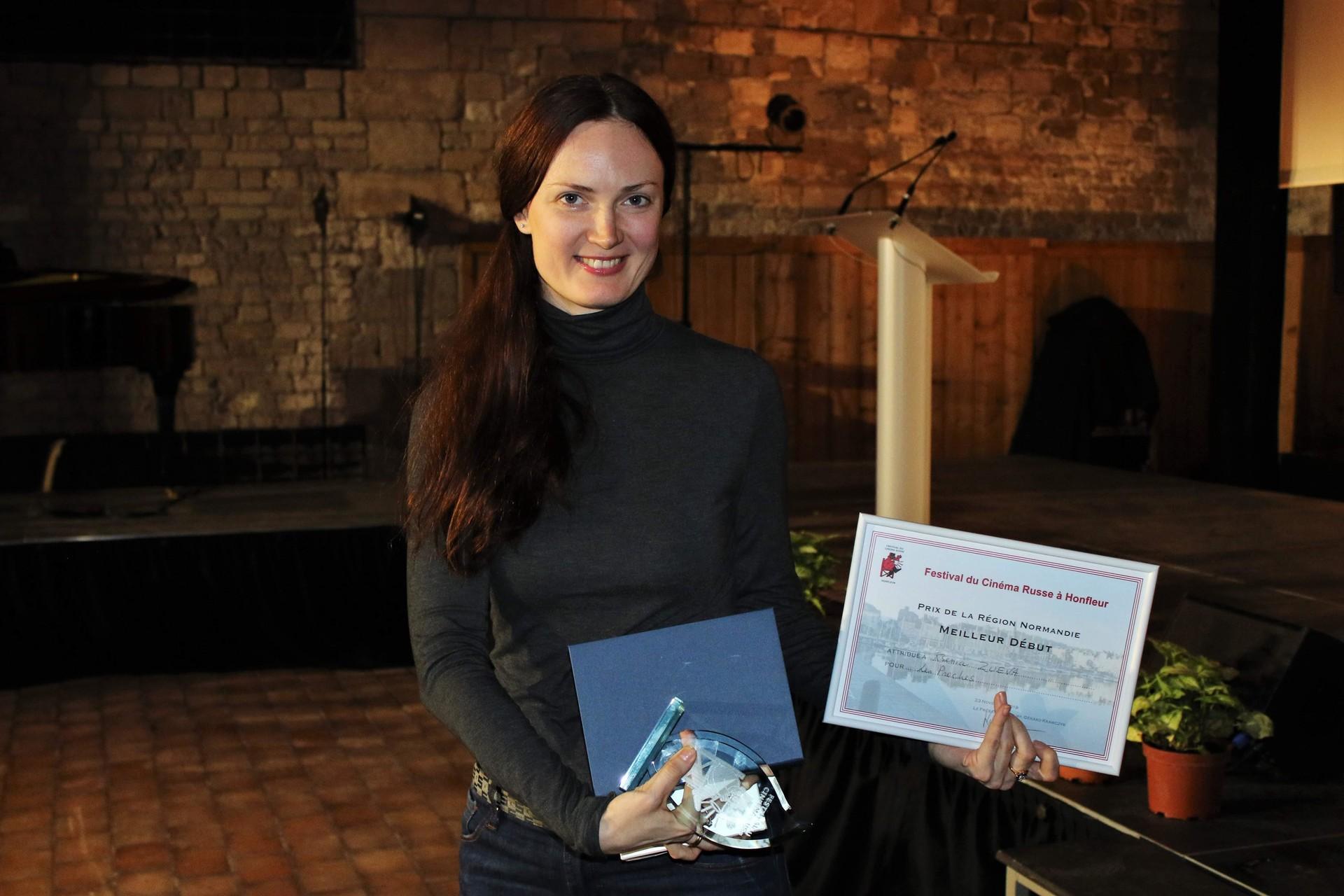 Katerina Mikhailova, productrice du film Les proches