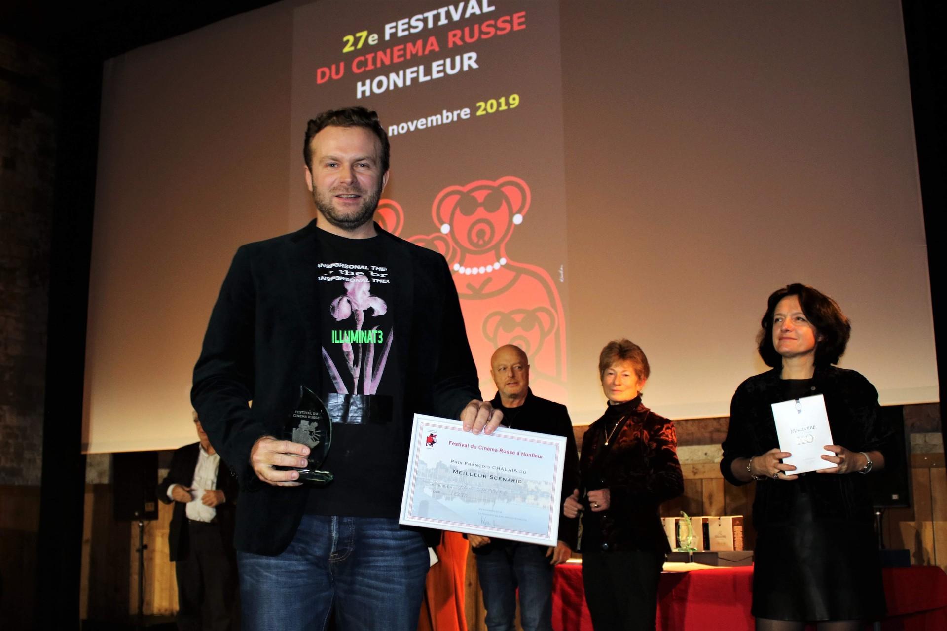 Klim Shipenko, réalisateur du film Texto