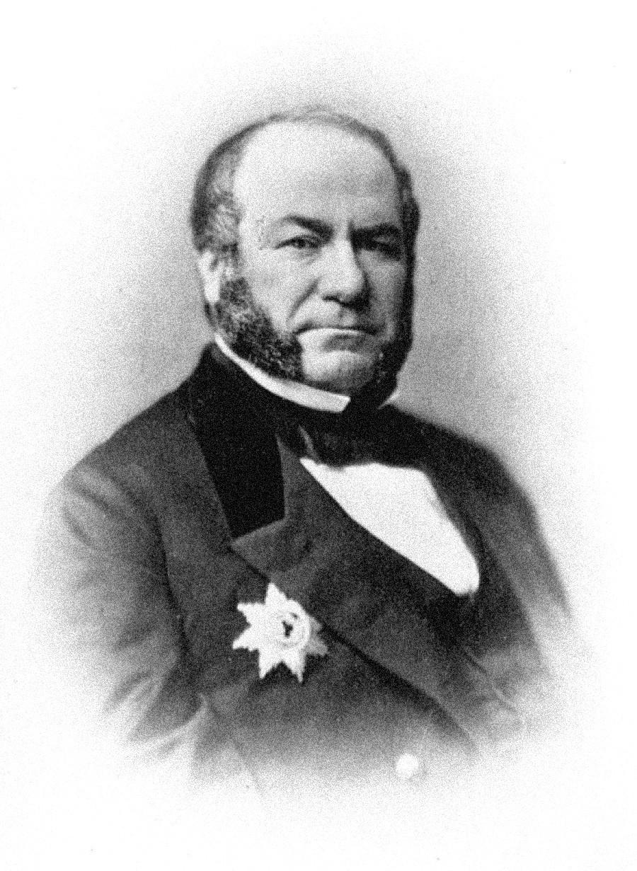 Портрет гардијског коњичког пуковника Ј. В. Давидова.