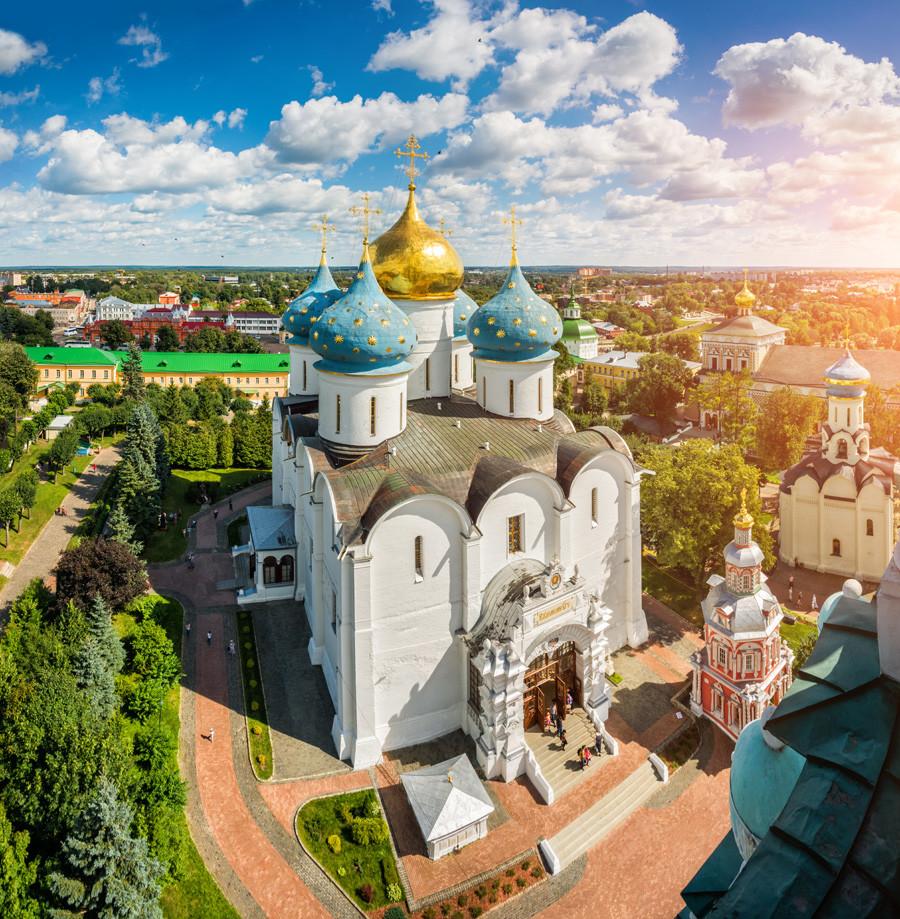 Laure de la Trinité-Saint-Serge, à Serguiev Possad, région de Moscou