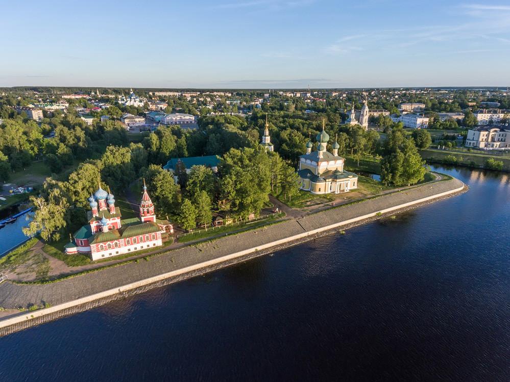 Kremlin d'Ouglitch, région de Iaroslavl – Cathédrale de la Transfiguration, église Prince-Dimitri-sur-le-Sang-Versé